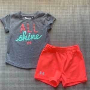 Under Armour 24 months 2 piece outfit